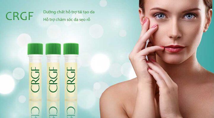 Dưỡng chất CRGF với các thành phần giúp thúc đẩy tăng trưởng phục hồi làn da