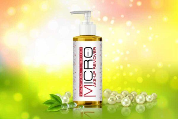 Micro Makeup Remover dịu nhẹ với thành phần từ thiên nhiên tiêu chuẩn Organic