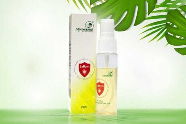 LaBgen hỗ trợ giảm sốc nhiệt và bỏng cho làn da