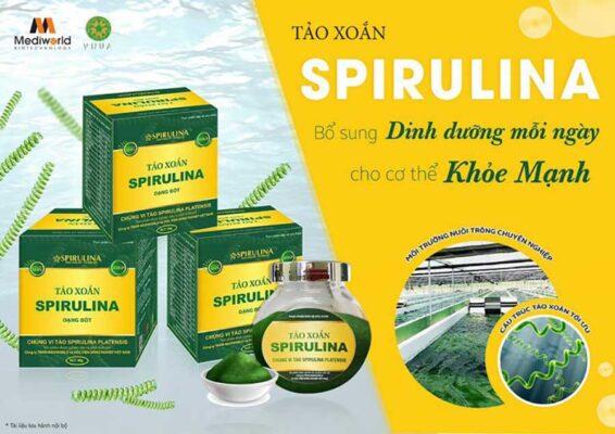 Bổ sung dinh dưỡng mỗi ngày với bột tảo xoắn Spirulina