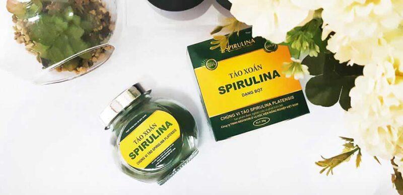 Bột tảo xoắn Spirulina mang hàm lượng dinh dưỡng rất cao
