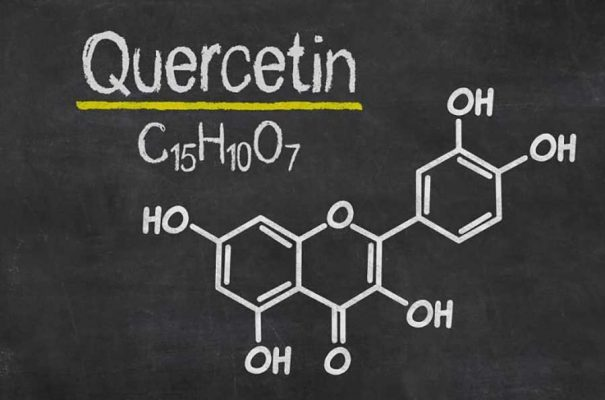 Công thức hóa học của nhóm hợp chất Quercetin