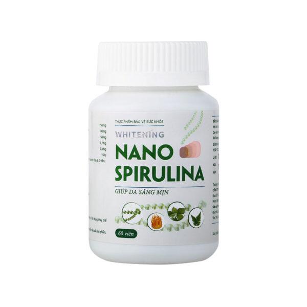 Viên uống trắng da Whitening Nano Spirulina 1