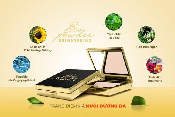 Bio Powder Brightening với thành phần từ Công nghệ Sinh học