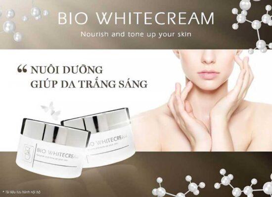 Bio White Cream - Kem dưỡng làn da hỗ trợ trắng sáng bật tone