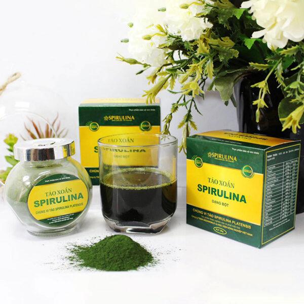 Bột tảo xoắn Spirulina 2