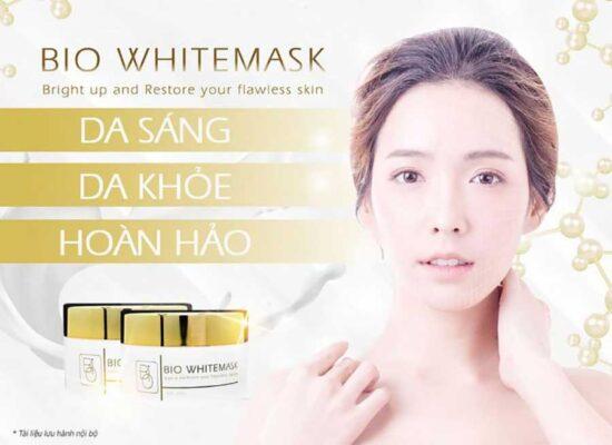 Mặt nạ Bio White Mask có thể sử dụng tại nhà hoặc ứng dụng trong các quy trình chuyên nghiệp