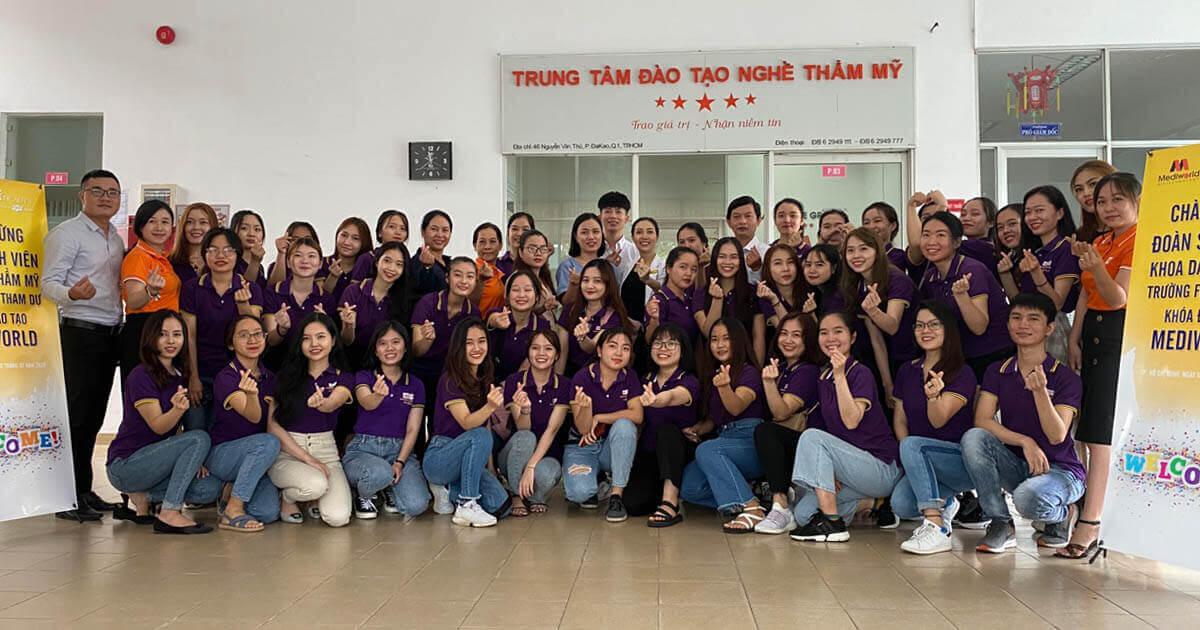 Avata Đào tạo định hướng cho sinh viên ngành Da thẩm mỹ trường FPT tại Mediworld