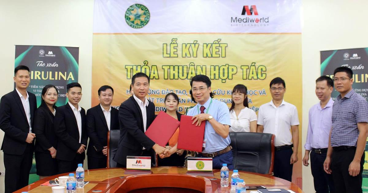 Avata Ký kết hợp tác giữa Mediworld và Học viện Nông nghiệp Việt Nam