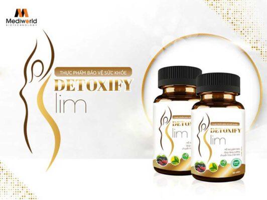 Detoxify Slim với thành phần chiết xuất từ thiên nhiên