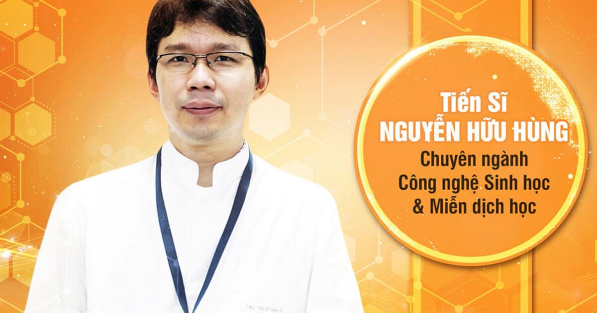 TS Nguyễn Hữu Hùng - Cha đẻ dầu massage S Shape Firmming Oil