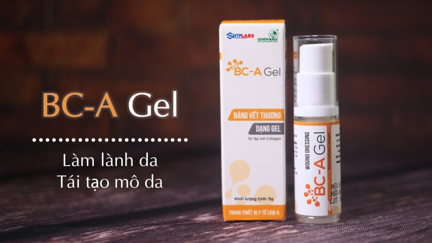 Băng vết thương thông minh dạng gel BC-A Gel