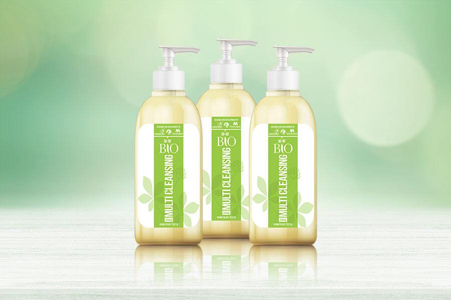 Bio Multi Cleansing - Sữa rửa mặt kiêm tẩy trang 2 in 1 tiêu chuẩn organic