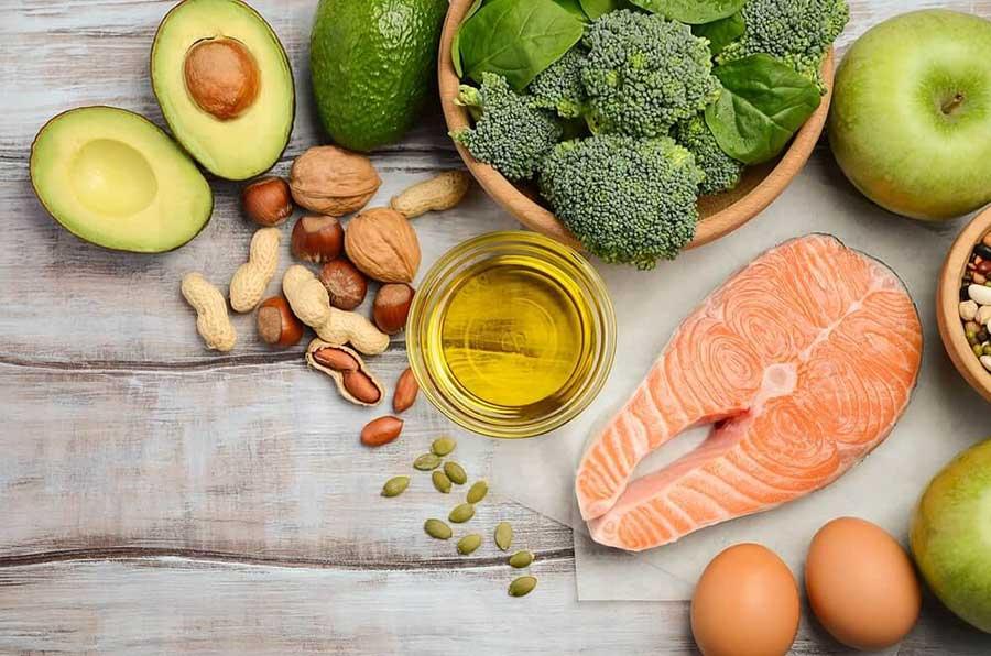 Bổ sung các loại thực phẩm chứa Collagen hoặc giàu Protein