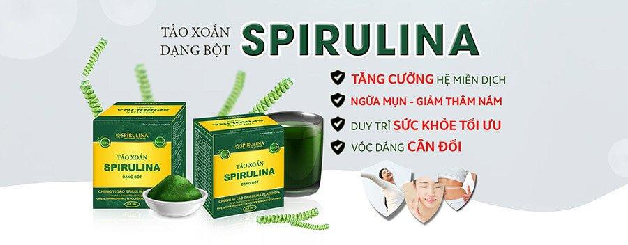 Một vài công dụng nổi bật của Tảo xoắn Spirulina