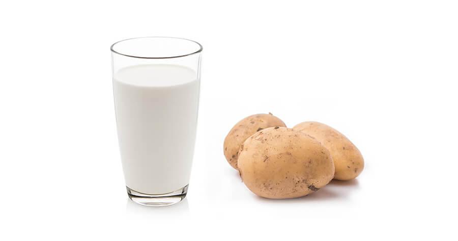 Mặt nạ dưỡng da từ khoai tây và sữa chua