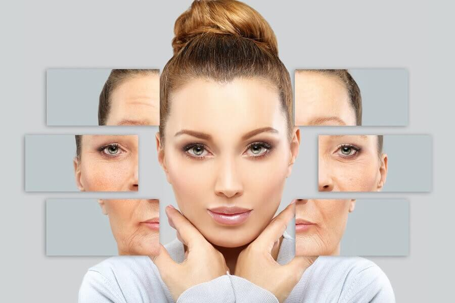 Một vài dấu hiệu của sự lão hóa làn da