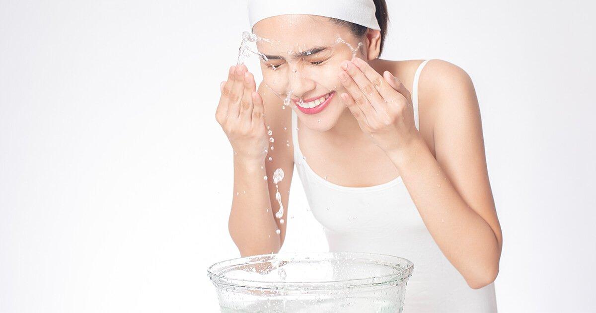 Rửa mặt bao nhiêu lần một ngày là đủ