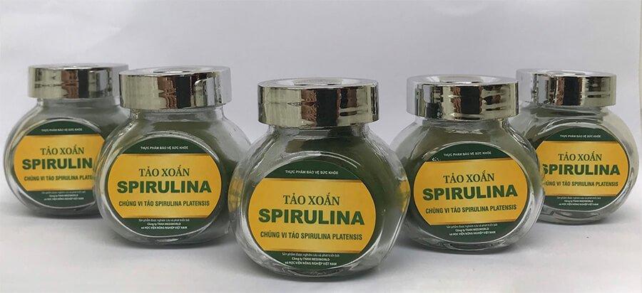 Tảo Spirulina là nguồn dược liệu mà thiên nhiên đã ban tặng