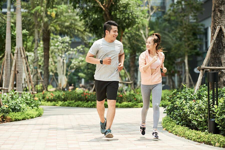 Chú ý tập luyện đều đặn mỗi ngày để có cơ thể mạnh khỏe săn chắc