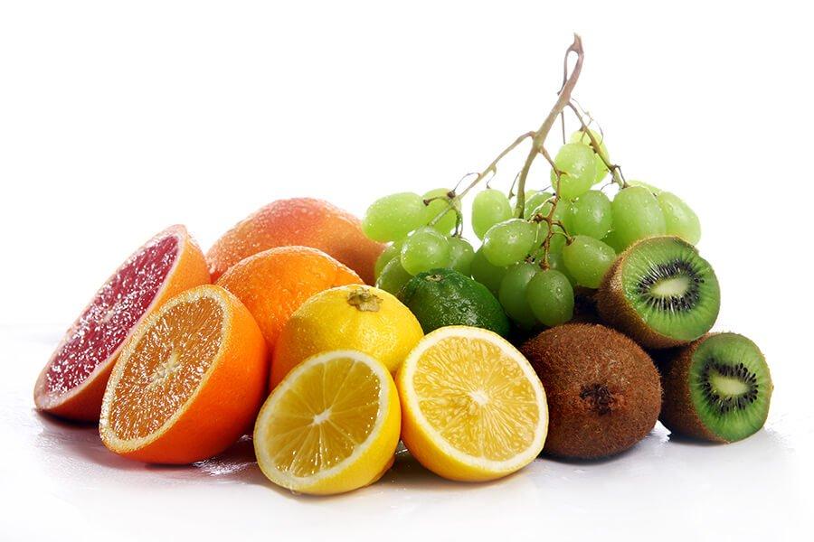 Trái cây tươi và rau xanh giúp thanh lọc và thải độc tố cho cơ thể rất tốt