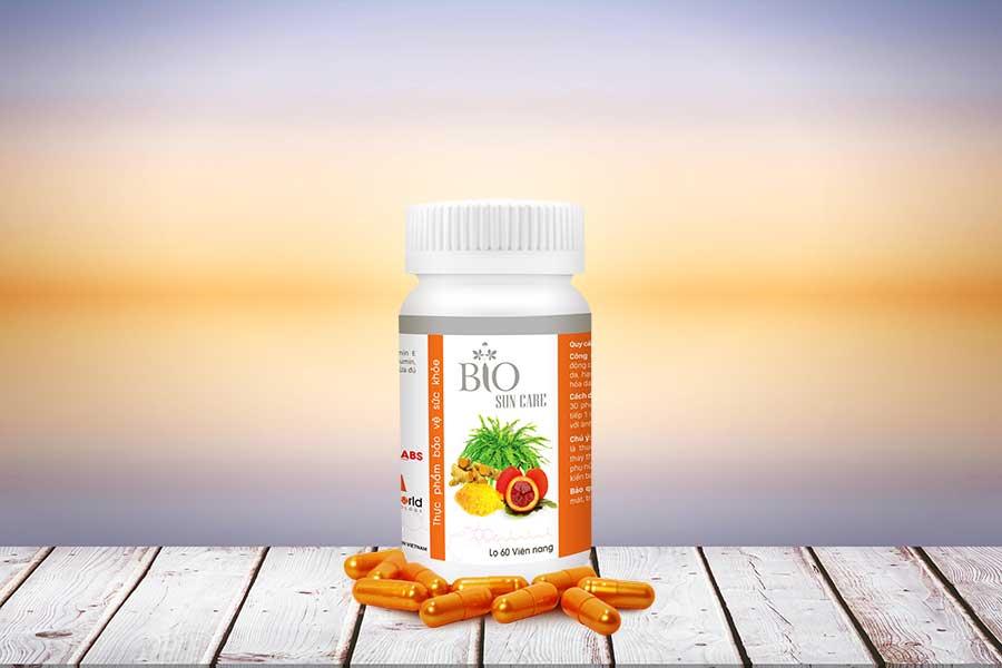 Bio Suncare - Viên uống chống nắng bảo vệ và nuôi dưỡng da từ sâu bên trong