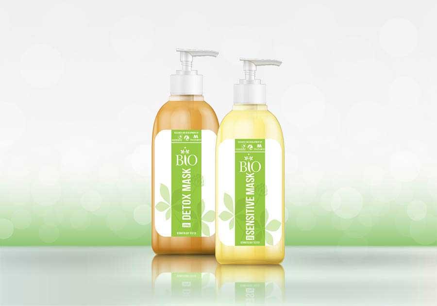 Bộ đôi thải độc tố cho da công nghệ Organic Bio Detox Mask và Bio Sensitive Mask