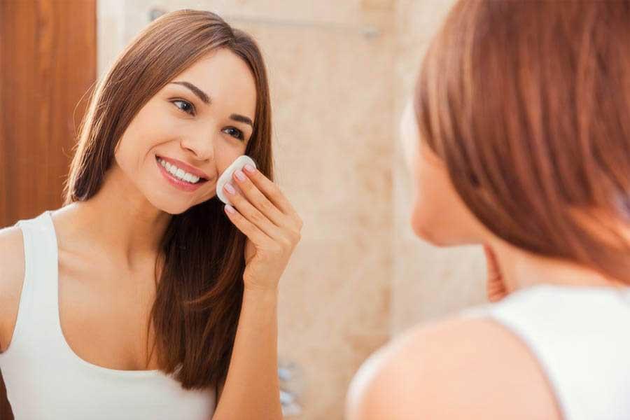 Chú ý bước làm sạch da