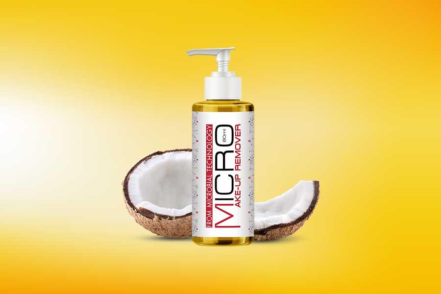Micro Makeup Remover - Dầu tẩy trang với thành phần Organic