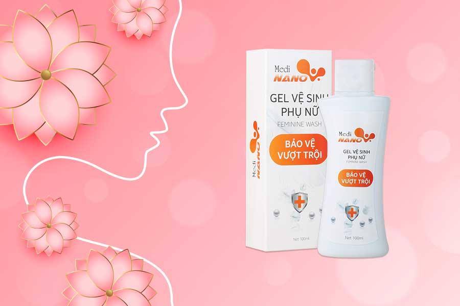 Gel vệ sinh phụ nữ MediNano - Bảo vệ cơ thể toàn diện từ các tinh chất tự nhiên