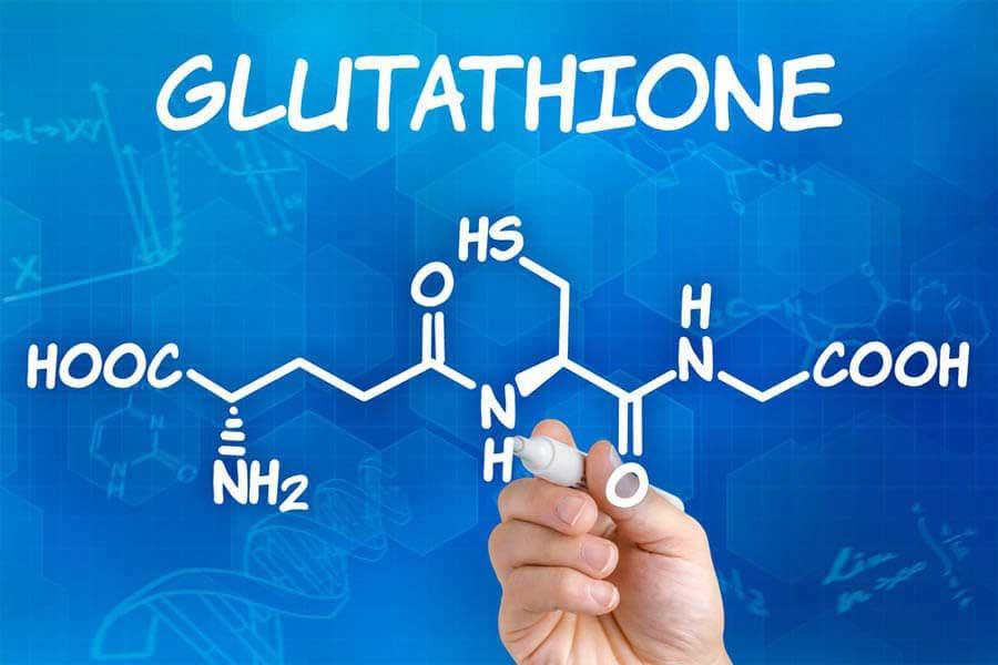 Glutathione trong viên uống trắng da có tác dụng chống oxy hóa mạnh