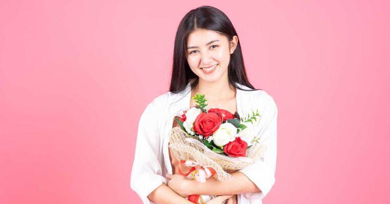 Hoa hồng - Biểu tượng của sắc đẹp và sức khỏe người phụ nữ