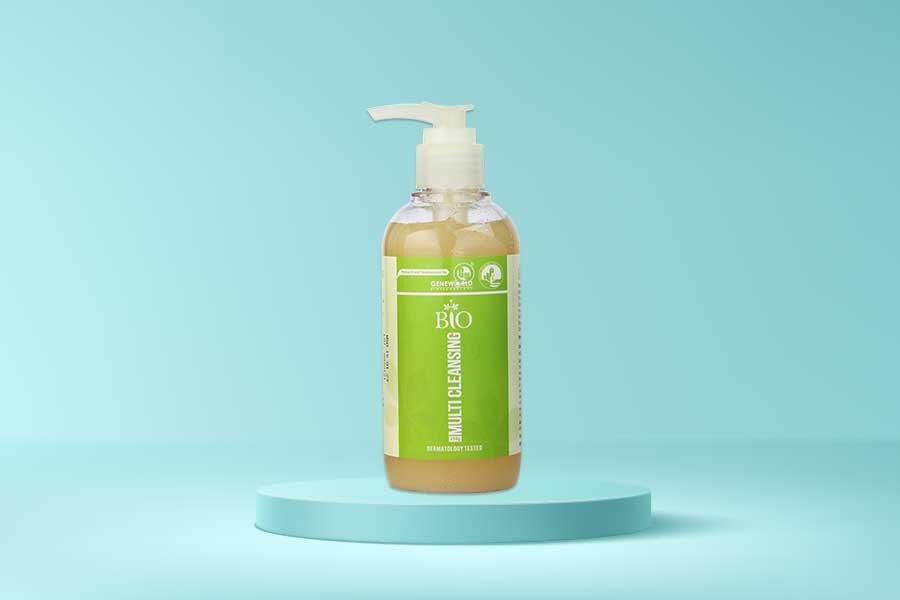 Làm sạch da với sữa rửa mặt Bio Multi Cleansing