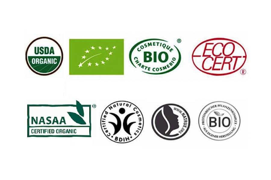 Một vài chứng nhận tiêu chuẩn Organic