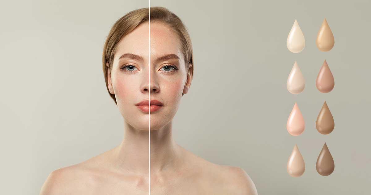 Phương pháp xác định tone da dựa vào Skintone và Undertone