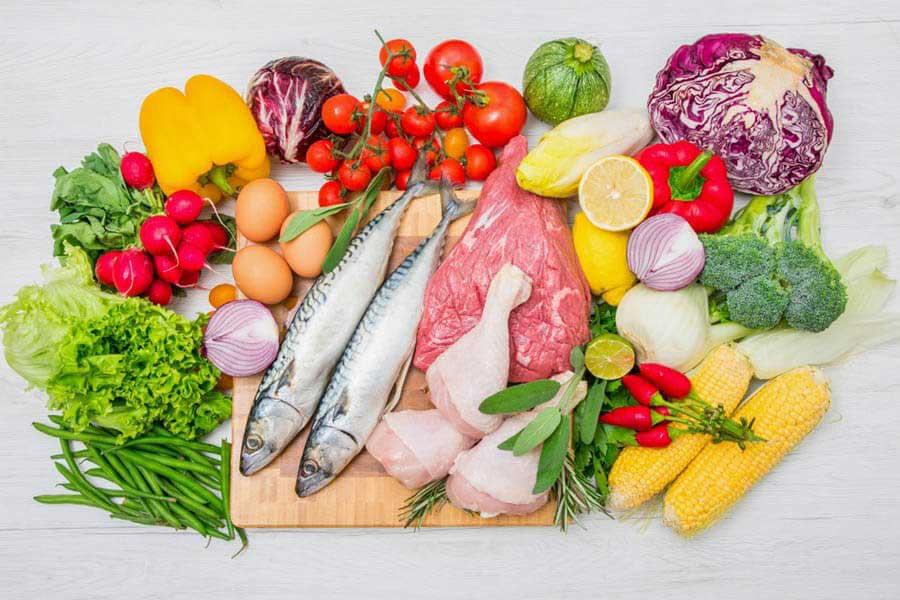 Thực phẩm giàu chất xơ và protein