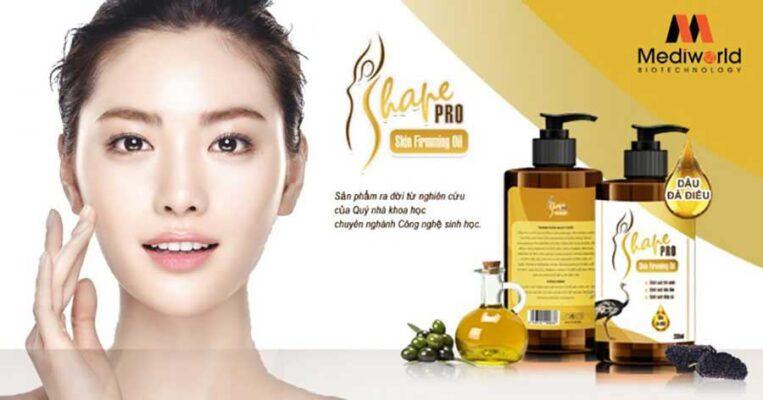 Tinh dầu massage hỗ trợ giảm mỡ và chăm sóc làn da S Shape Pro Skin Firming Oil