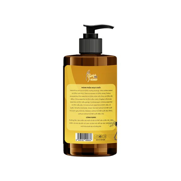 Tinh dầu massage từ tự nhiên S Shape Pro Skin Firming Oil 2