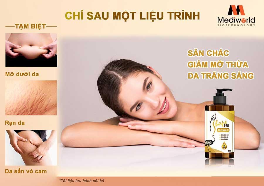 Dầu massage S Shape Pro Skin Firming Oil - Không đơn giản chỉ là dầu massage