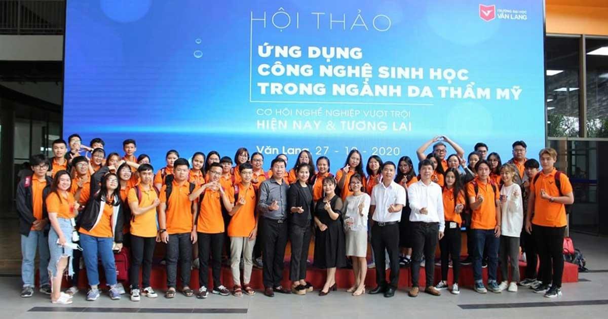 Trường Đại học Văn Lang mở ngành đào tạo Công nghệ Thẩm mỹ với sự đồng hành của Mediworld