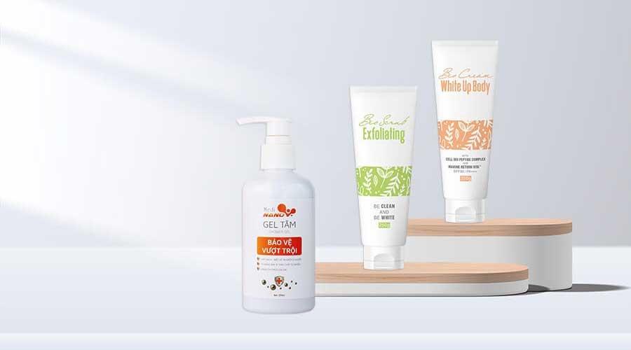 Bộ sản phẩm nuôi dưỡng làn da body tại nhà an toàn, hiệu quả