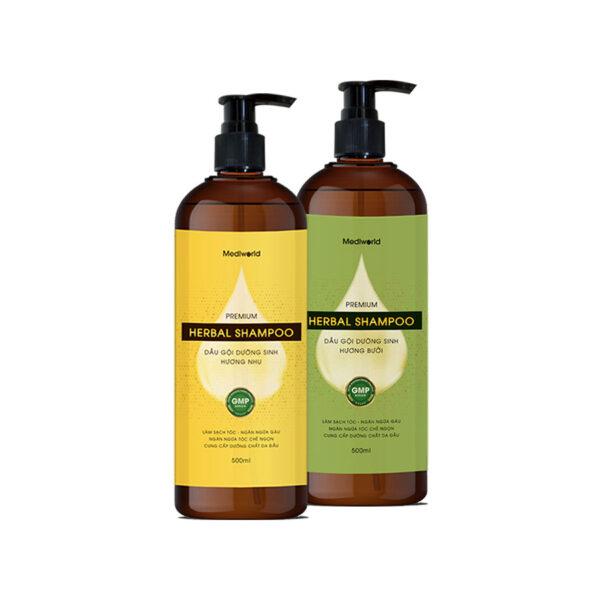 Dầu gội dưỡng sinh Premium Herbal Shampoo 1