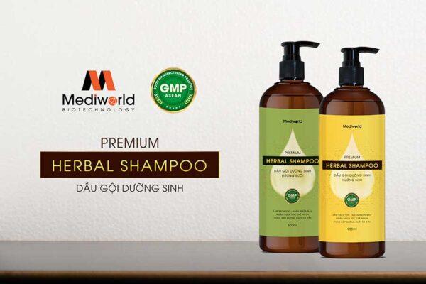 Premium Herbal Shampoo có thể sử dụng tại nhà hoặc ứng dụng trong các quy trình chăm sóc chuyên nghiệp
