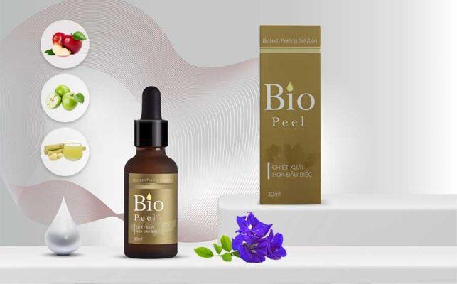 Bio Peel chứa các thành phần hoàn toàn tự nhiên được thu nhận từ công nghệ sinh học
