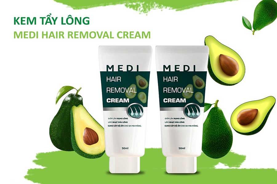 Kem tẩy lông Medi Hair Removal Cream - Sự lựa chọn hoàn hảo của bạn