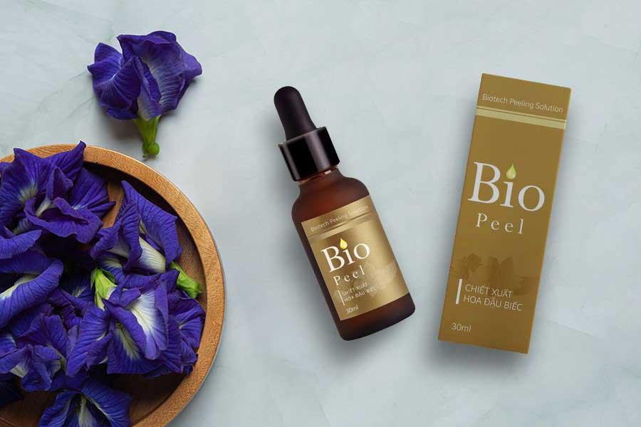 Bio Peel - Peel da an toàn chứa thành phần chiết xuất hoa đậu biếc và các acid từ tự nhiên