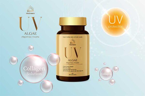 UV Algae Protection với thành phần chiết xuất từ vi tảo và các tinh chất thiên nhiên