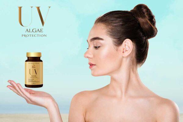 Viên uống UV Algae Protection giúp bảo vệ và nuôi dưỡng làn da một cách toàn diện