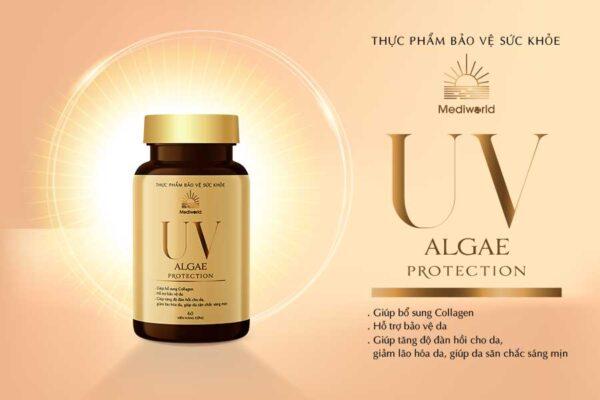 Viên uống hỗ trợ bảo vệ da và bổ sung collagen UV ALGAE Protection
