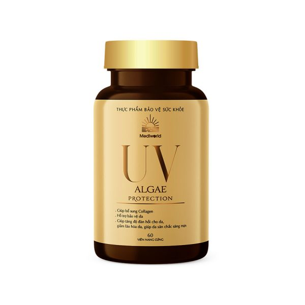 Viên uống hỗ trợ bảo vệ da nội sinh UV ALGAE Protection